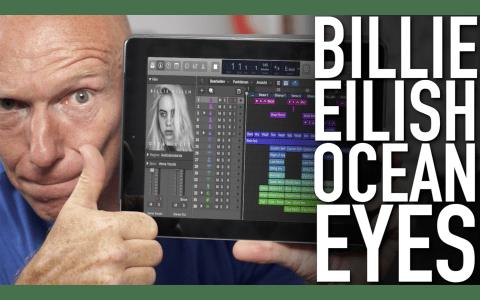 Billie Eilish Ocean Eyes Logic Pro X Session