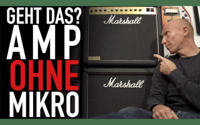 Fetter Amp-Sound ohne Mikro: Gitarren-Amp mit Impulse Response (IR)