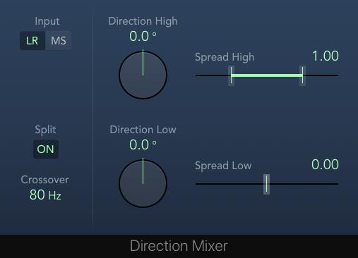 Mono-Maker-Ersatz Direction-Mixer in LPX