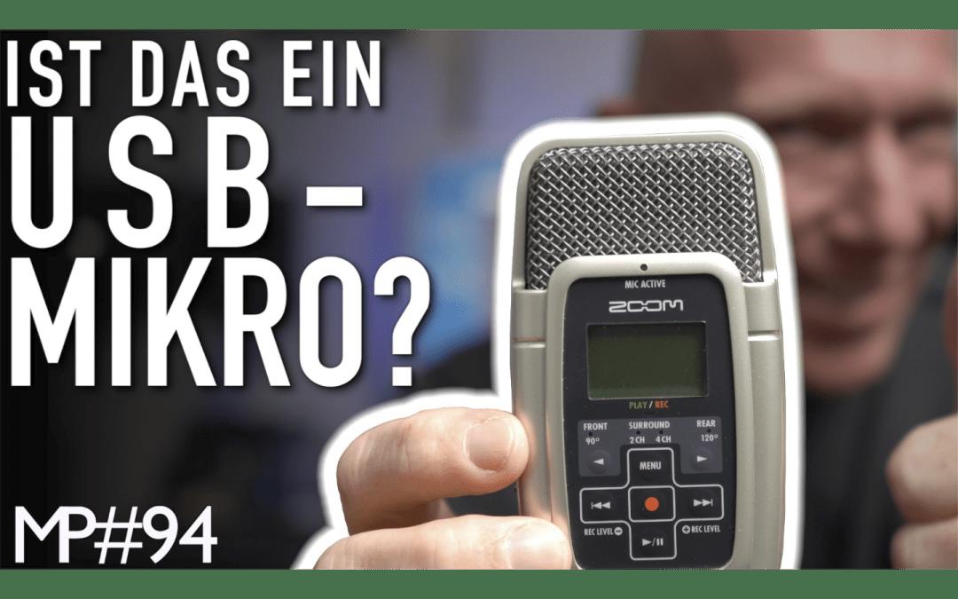 Klingt auch heute noch: Zoom H2 als USB-Mikro und Audio-Interface nutzen