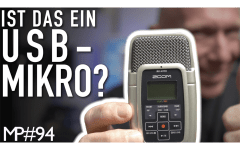Zoom H2 als USB-Mikrofon