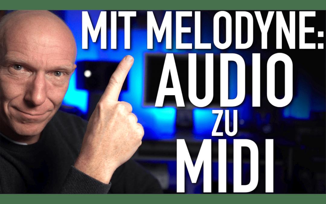 Audio zu MIDI mit Melodyne