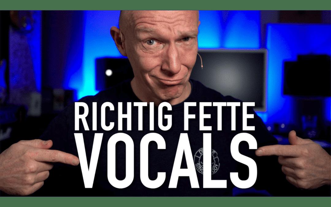Schnell, einfach, kostenlos: 3 Tipps für fette Vocals