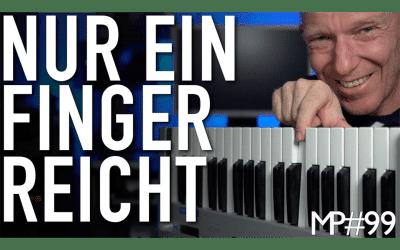 Du kannst nicht Keyboard spielen? Kein Problem mit diesen 3 Tipps für Deine Produktion