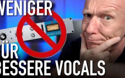 Clip-Gain für bessere Vocals mit weniger Kompressor