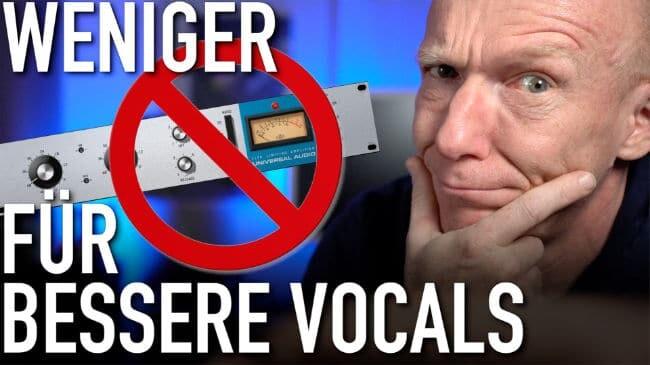 Bessere Vocals mit weniger Kompression