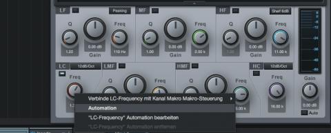 Automation von Studio One PlugIns