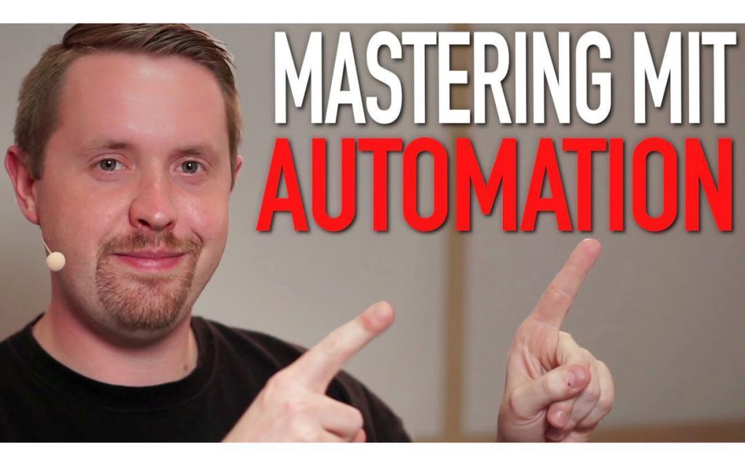 3 Tipps vom Mastering-Profi: Mastering mit Automation in Presonus Studio One