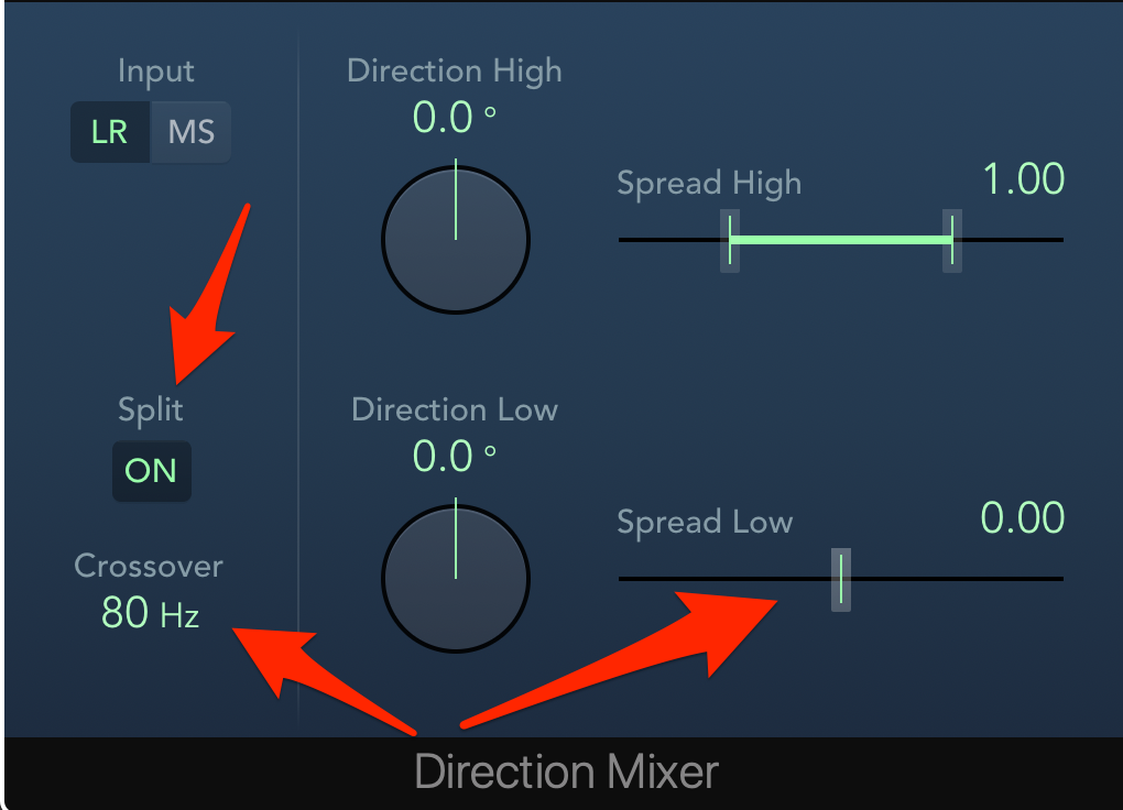 Direction Mixer in Logic