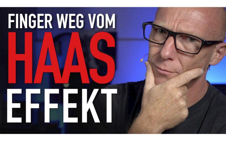 Haas-Effekt in der DAW