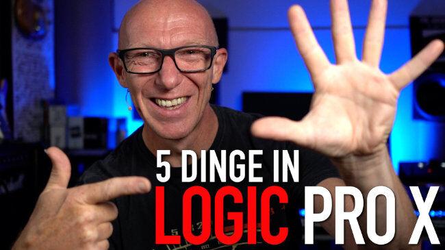 Geliebt, gehasst, geduldet: 5 Dinge in Logic Pro X